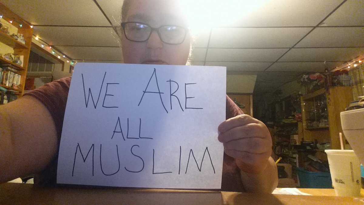 moore muslim Oscar-winning documentary maker michael moore has protested over donald trump's call to ban muslims entering the us the social activist picketed outside trump towers in new york yesterday with a sign which read 'we are all muslims' until he was moved on by police moore then sent the republican.