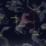 Image for the Tweet beginning: Winter Constellations