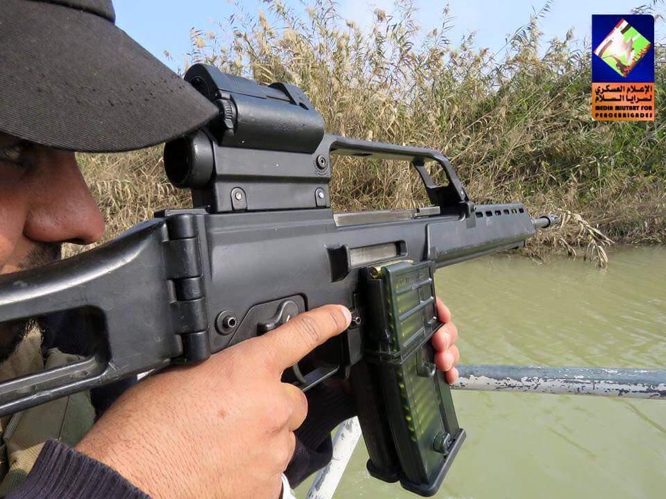 """""""Восток - дело тонкое"""", или как германские штурмовые винтовки G36 оказались на черном рынке Багдада"""