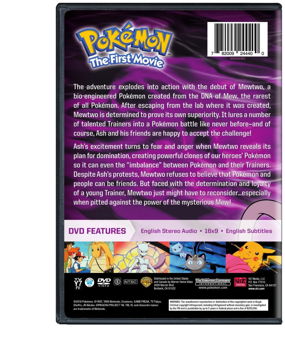 Pokemon movie 2 the power of one english subtitles