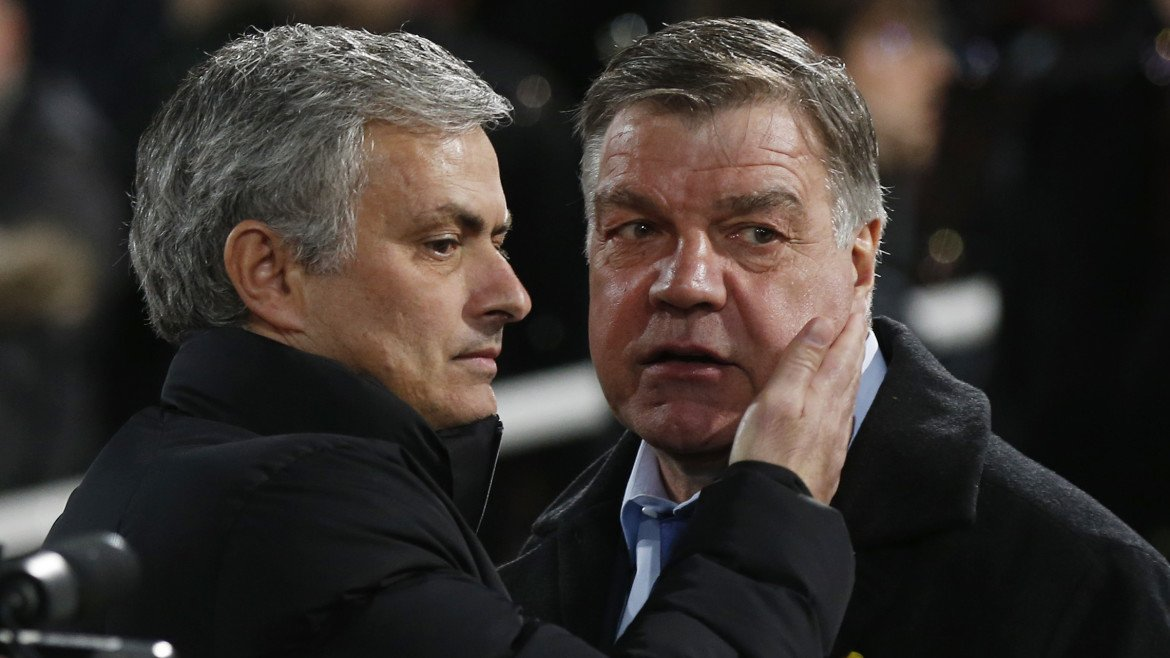 Sam Allardyce believes Chelsea must already have Jose Mourinho replacement lined up (Video ...