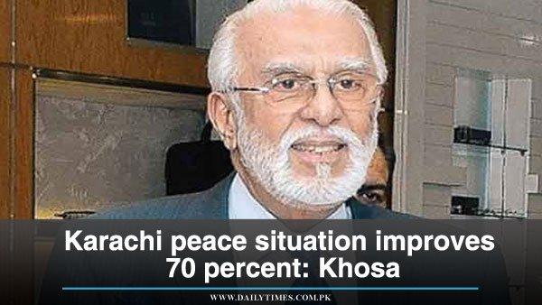 Federal government would resolve Rangers power issue in #Karachi: #ZulfiqarKhosa  http://www. dailytimes.com.pk/national/17-De c-2015/karachi-peace-situation-improves-70-percent-khosa &nbsp; … <br>http://pic.twitter.com/aAjMaZXvzS