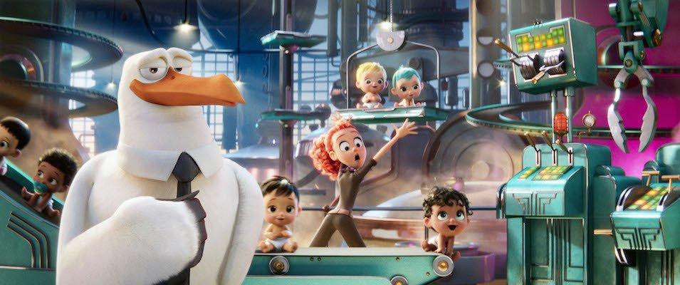 Storks Trailer Featuring Andy Samberg & Kelsey Grammer 1