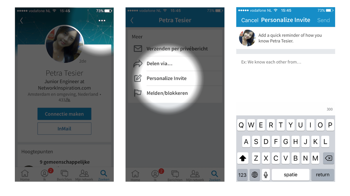Personalized Invites are BACK in the #LinkedIn App (9.0.2)... #SocialSelling Please RT and let everyone know!! https://t.co/ShGakwP1Xq