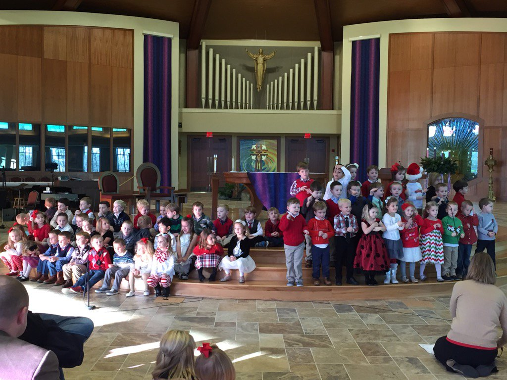 pre school Christmas program