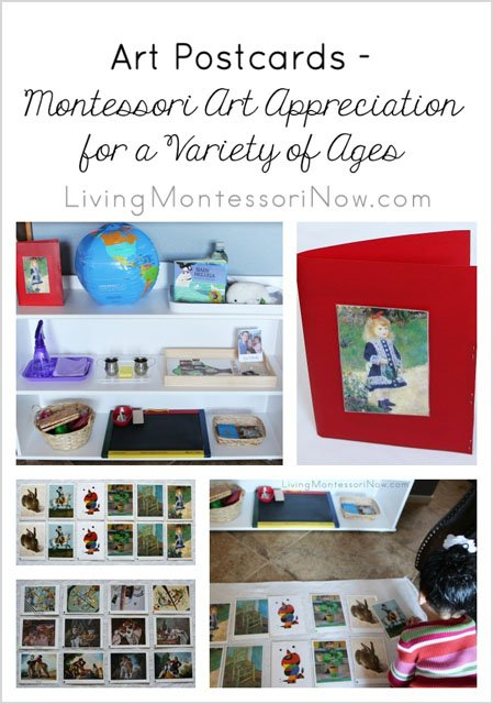 Art Postcards: #Montessori Art Appreciation for a Variety of Ages https://t.co/bfdP3kni8G #homeschool https://t.co/t9OLBaWPP3