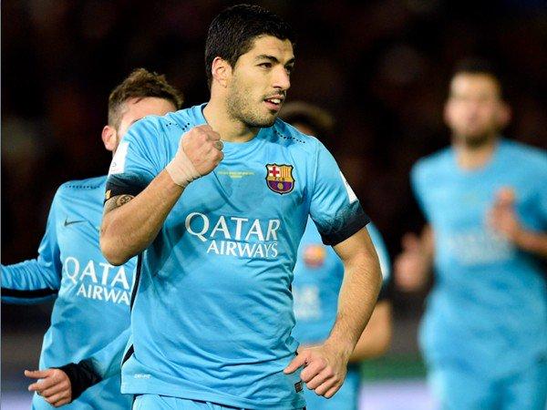 Mondiali Calcio Club: tripletta Suarez e Barcellona in finale