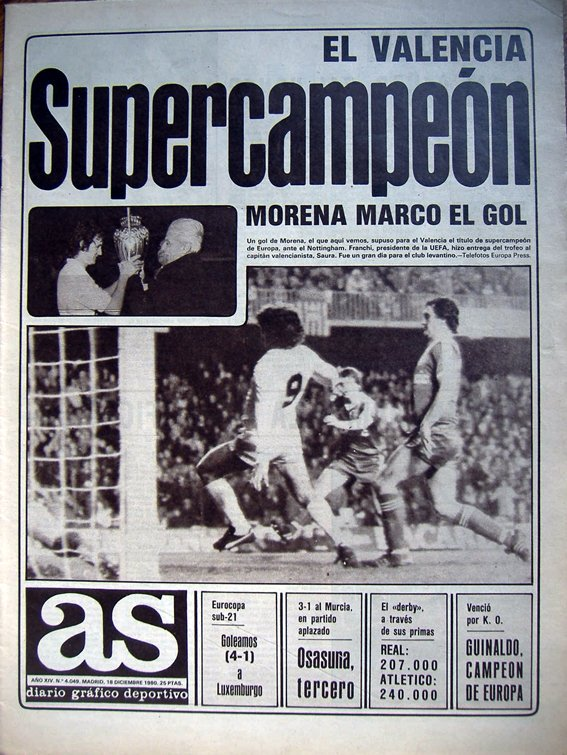 #taldiacomohoy en 1980 el VCF se proclam...
