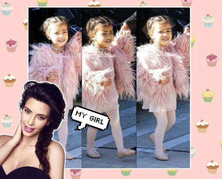 Дочка  kimkardashian в образе Шанель Оберлин - scoopnest.com 2bc089d596a