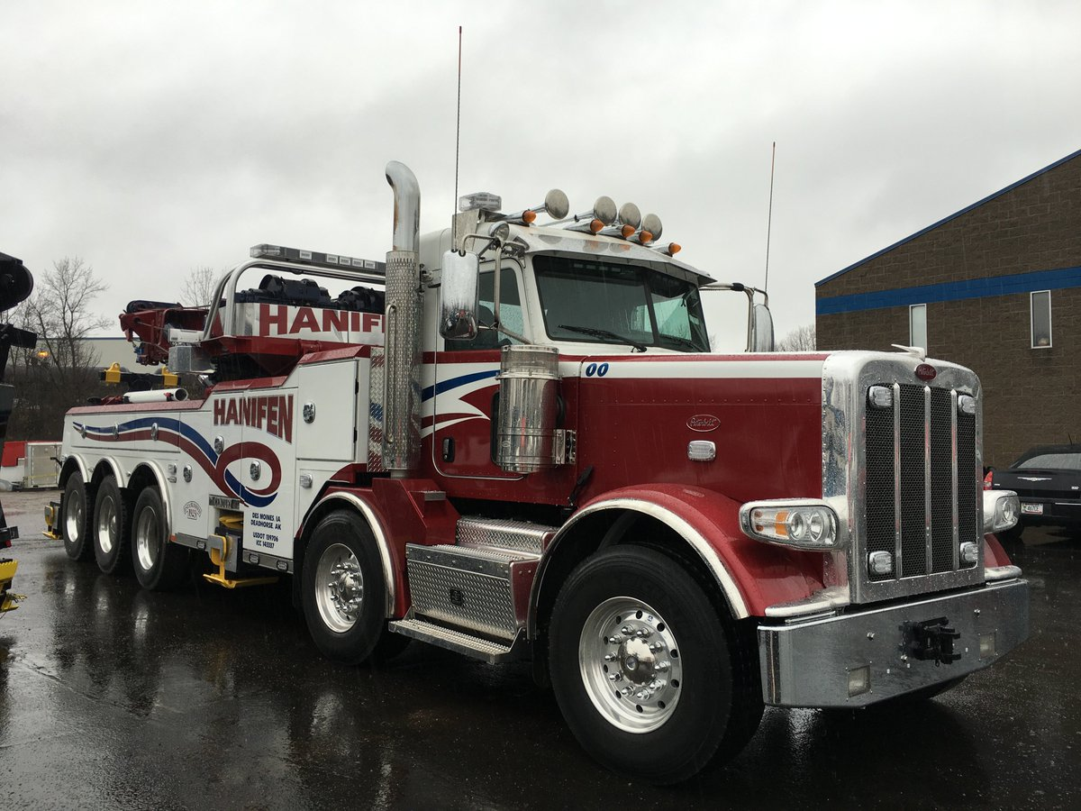 peterbilt rotator twin cities wrecker on twitter we hope hanifen towings new
