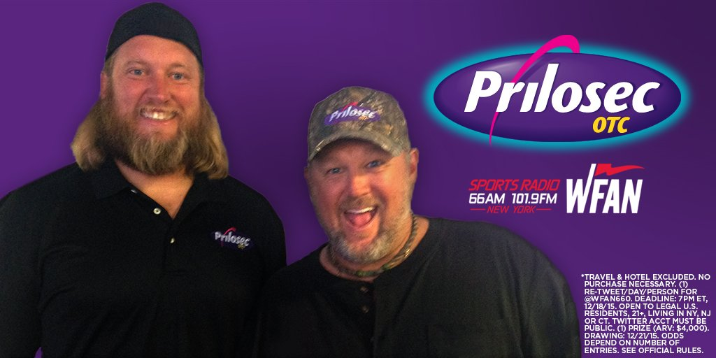 Want #SuperBowl50 tix? RT 2 enter #WFANSweepstakes #PrilosecOTC @NickMangold @GitRDoneLarry: https://t.co/Vr54NQBHOm https://t.co/2b5XTXne3C