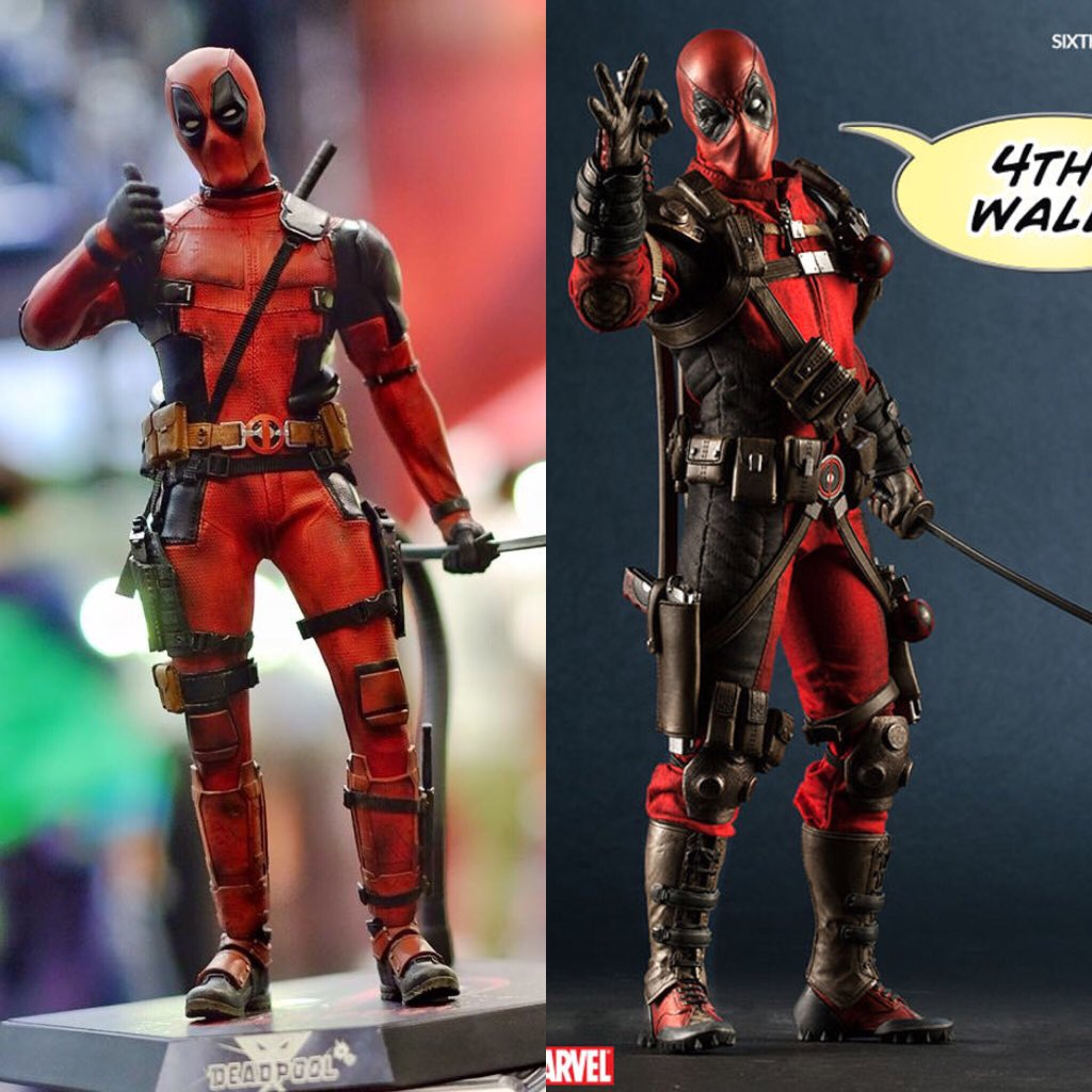 Hot Toys vs Sideshow Deadpool