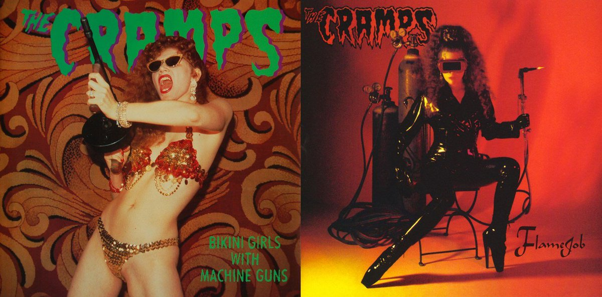 Naked girl falling down the stairs by the cramps