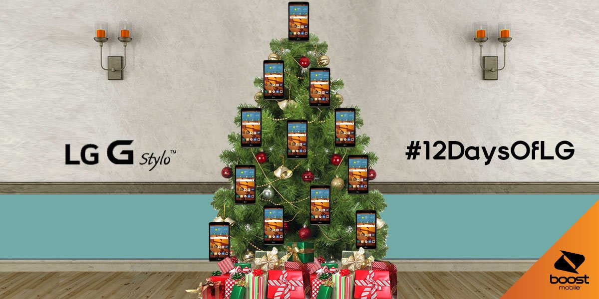 Christmas in 8 days! We have 12 LG G Stylos for #12daysofLG. RT for a chance to WIN.#contest https://t.co/KcYmVkx3u2 https://t.co/1kYZTz9K6v
