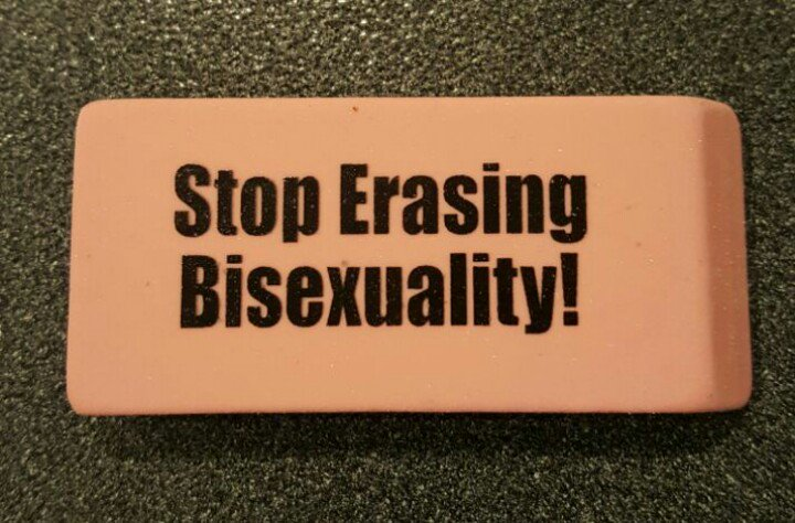 YES. bisexual erasure is awful, but these erasers are awesome.  #stillbisexual https://t.co/38LEtddU4d