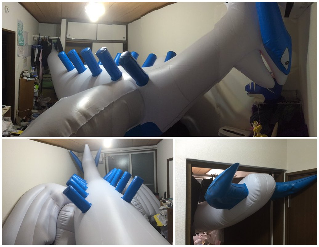Andrew On Twitter As It Turns Out A Giant Lugia The Size Of