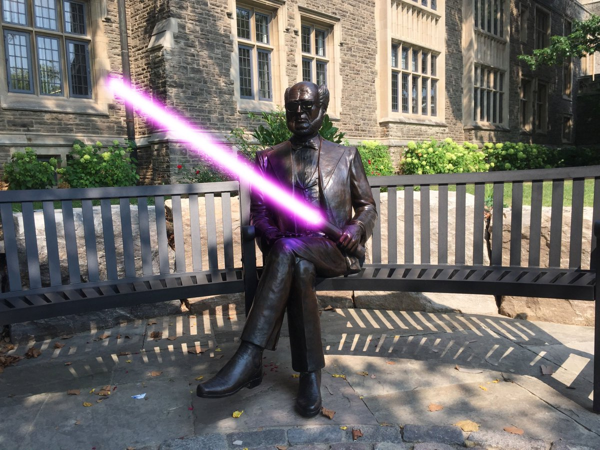 May the Force be with you.   #McMaster #McSU #HamOnt  #StarWars #TheForceAwakens https://t.co/uJlR2G3U4K