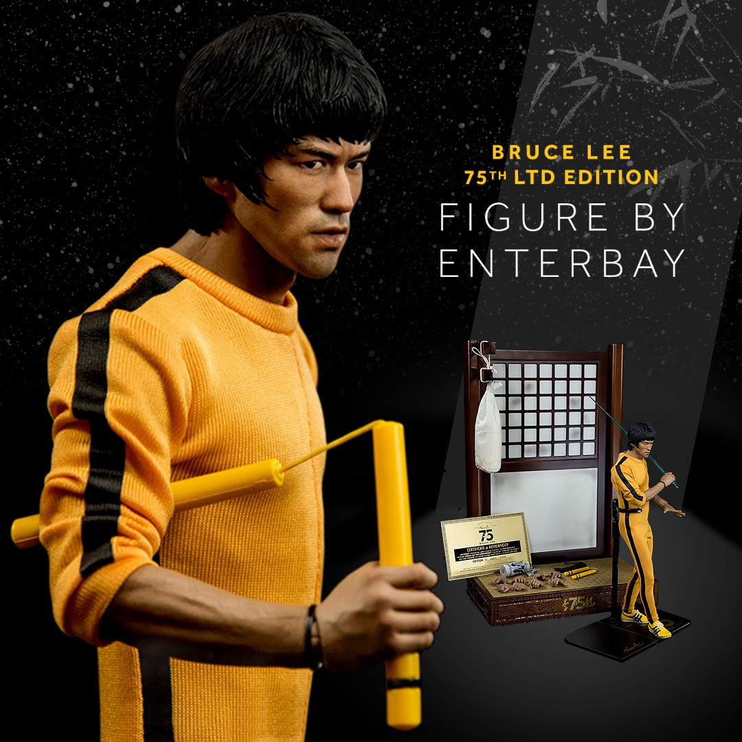 """Bruce Lee on Twitter: """"@brucelee x @enterbay 75th ..."""