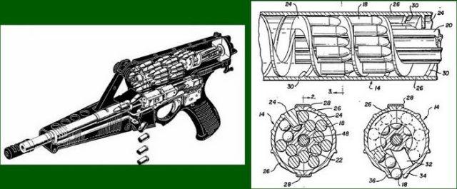 キャリコM950(アメリカ) そんなマガジンで大丈夫か?大丈夫じゃない、問題だらけだ。 拳銃で装弾数50発ってすげぇなぁ…しかも100発マグもあるってさ…まぁ軍用だから装弾数はあるだけイイんだけど、マガジンの信頼性ががが。
