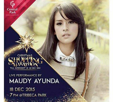 Tonight @maudears_ Live performance by @maudyayunda #maudears pic.twitter.com/AWLmMAHbLl