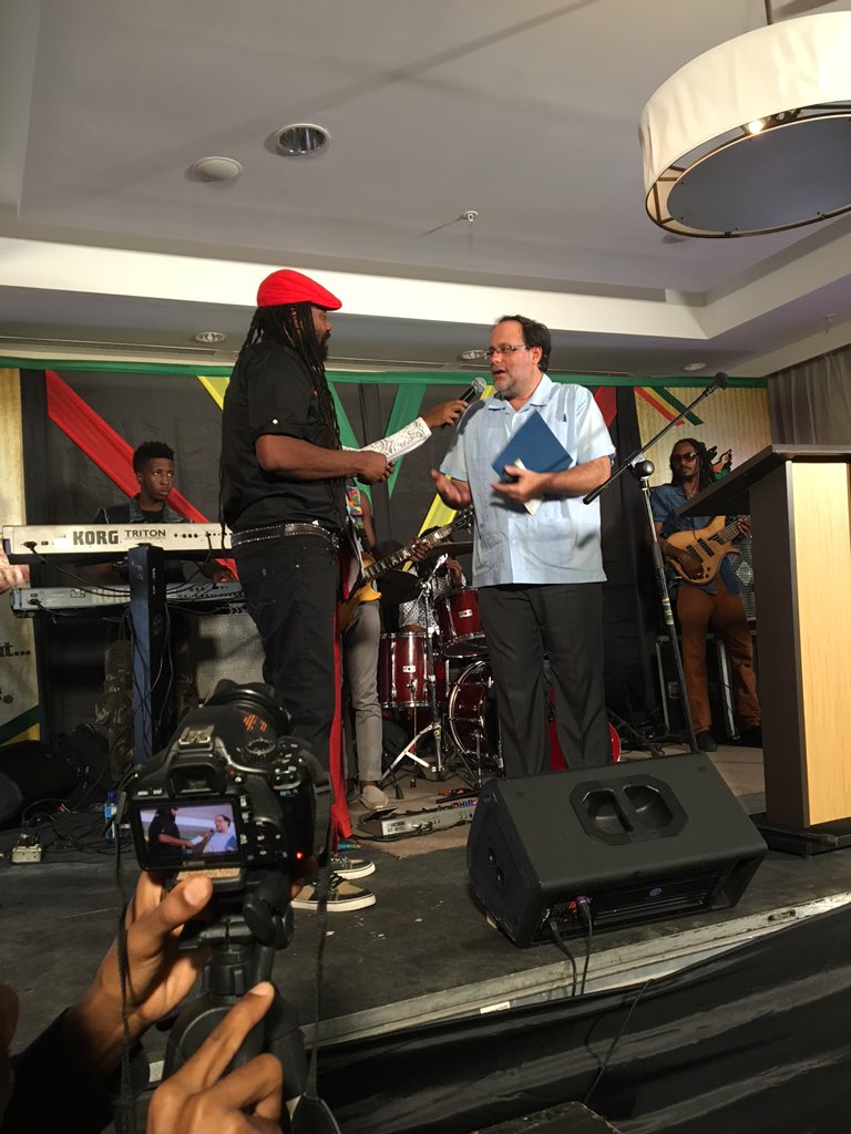 TonyRebel gets exemption order for #RebelSalute2016 from JusticeMinister #Jamaica #Ganja use/sale legal @ the venue https://t.co/rLXkpkhHeW