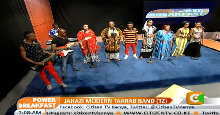 What a way to start your weekend! enjoy taarab music from tanzania