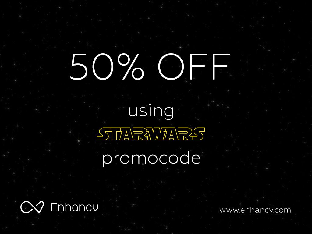 Enhancv On Twitter Happy Star Wars Premiere Use 50 Off