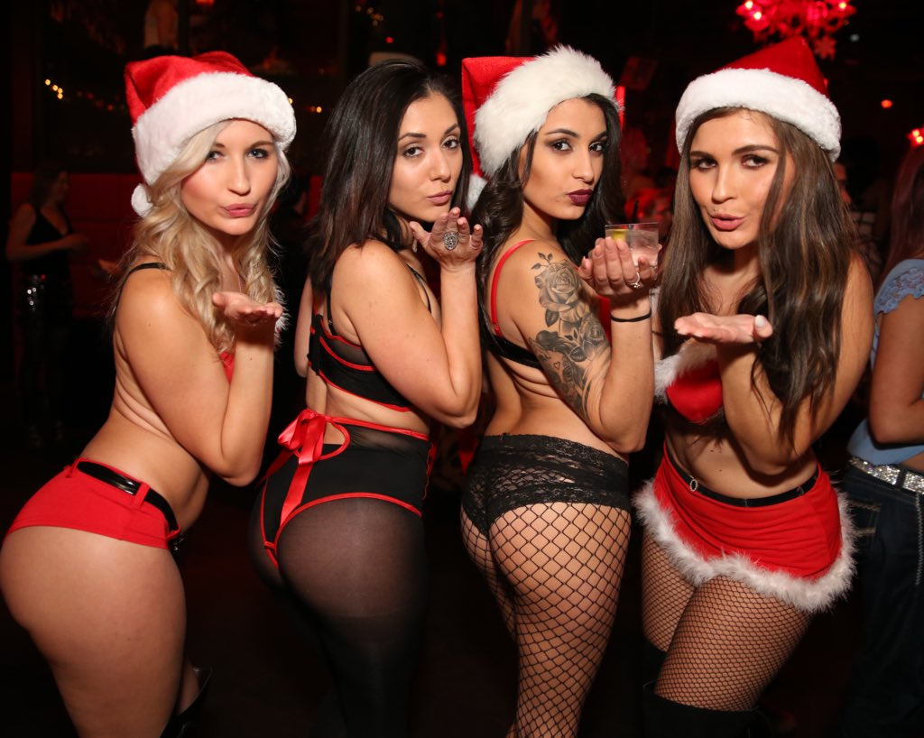 Image result for legendary gift giver Santa Claus in garters""