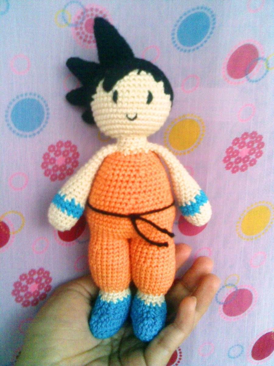 Dragon Ball Z Goku Amigurumi pattern by Natalie Smith | Crochet ... | 1200x900