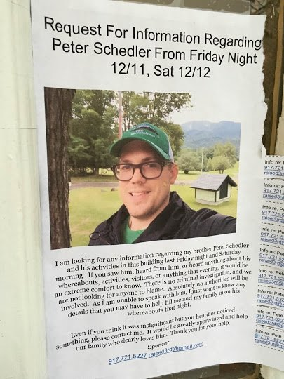 Family looking for information about PeterSchedler https://t.co/O5yXVV1A7p https://t.co/Qo1CyAZRdD