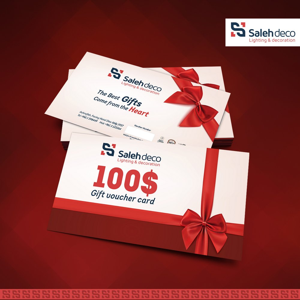 Share & Win a 100$ Gift Voucher to celebrate Christmas with Saleh Deco.  https://t.co/BOxvVoF7QZ https://t.co/Thv7RPZQhS