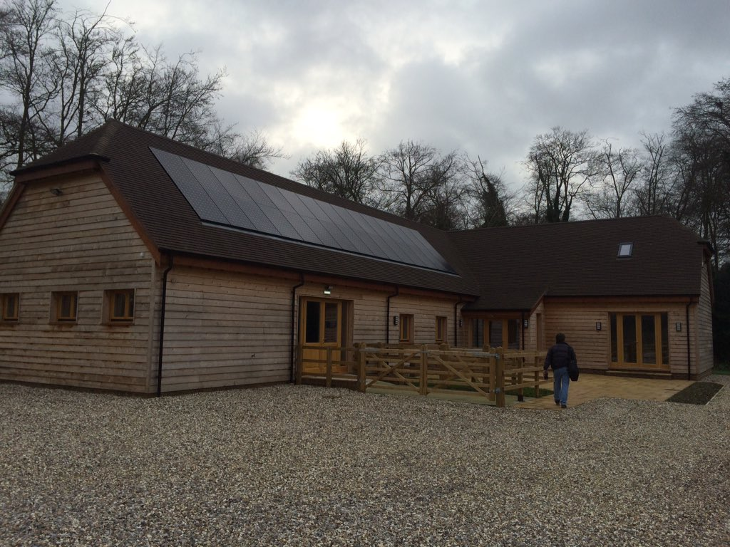 New vet clinic with 10kW #solar pv with Homeiso insulation made from #recycled #plastic. #sustainable #construction https://t.co/ErPrIVyDkc