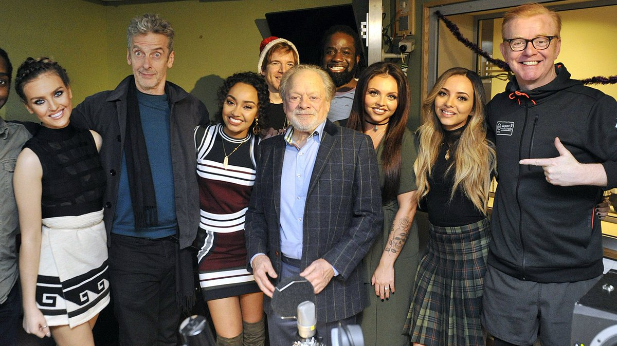On the @achrisevans podcast: @bbcdoctorwho Peter Capaldi, Sir David Jason & @LittleMix! https://t.co/J1ED3RpWZT https://t.co/RqZsMTaZEV