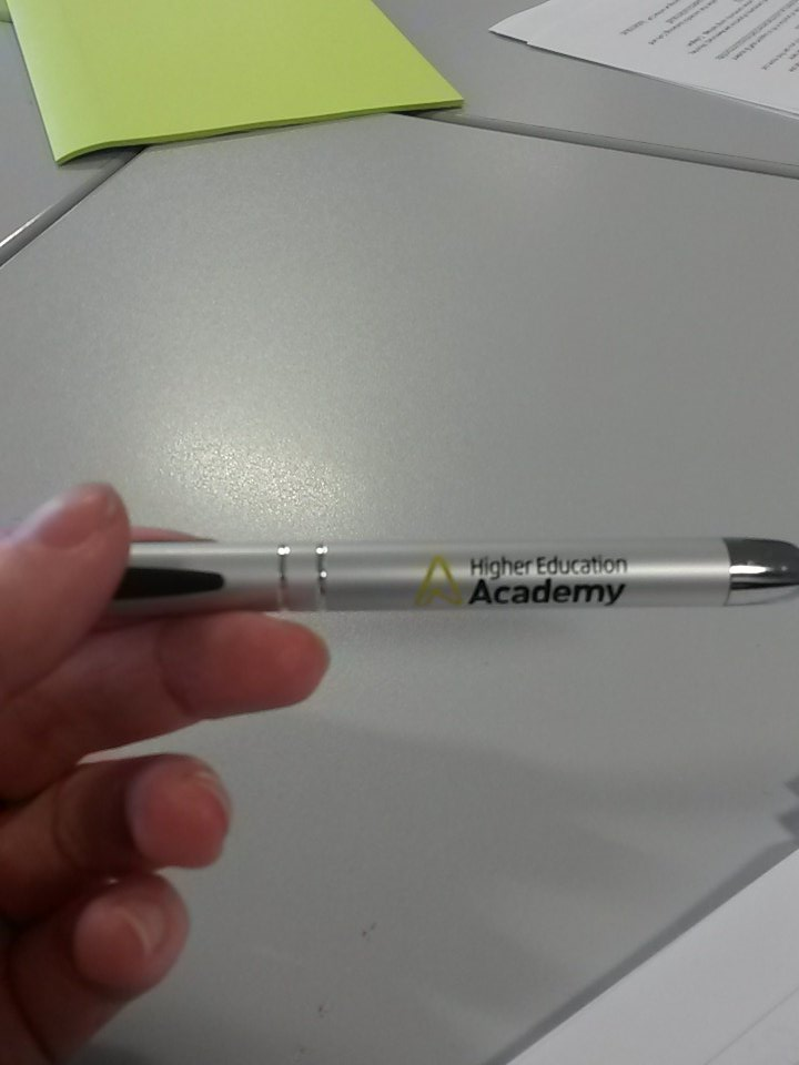 Nice free pen, too! #SocMedHE15 https://t.co/shHlFkEp0L