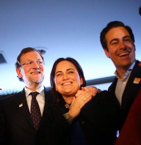 ¡Lo podemos y lo vamos a conseguir! #¡España necesita un gran equipo! @marianorajoy #VamosPP https://t.co/zgjBRQUb7Q