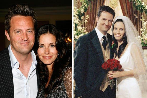 Monica ja Chandler alkavat dating