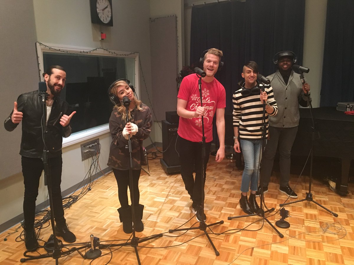 .@PTXofficial made a special stop    on tour to record something for us. Tune in to @npratc on Sunday to hear! https://t.co/3p3gaTOmqZ