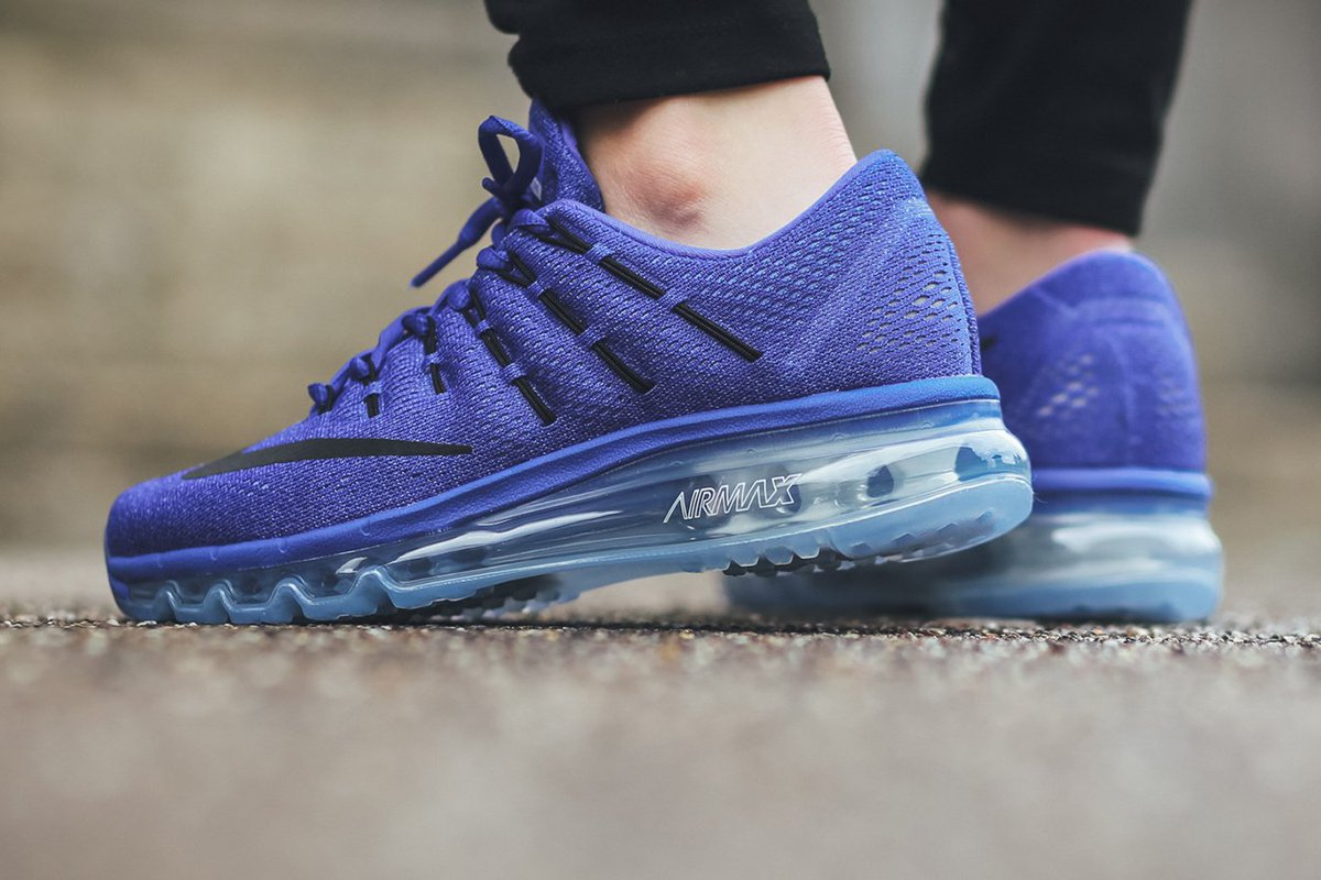 separation shoes a2556 0c827 Nike Wmns Air Max 2016 - Racer Blue Black-Chalk Blue-Blue Tint   SHOP HERE   http   bit.ly 1NtuwL2 pic.twitter.com 092SiFXBTD. 8 40 AM - 18 Dec 2015