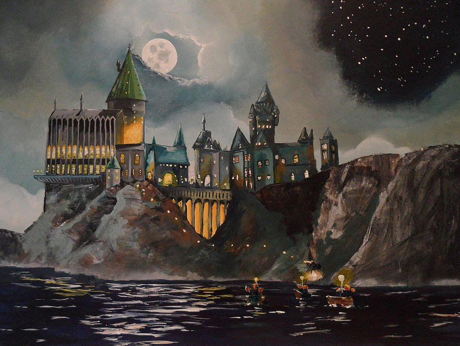 Harry Potter Book Art Hogwarts Harry Potter Ar...