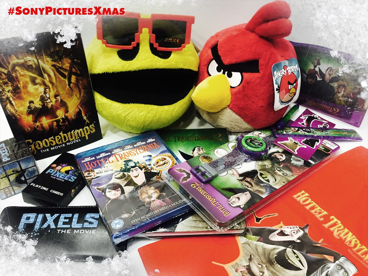 ⛄️❄️ Time for another #SonyPicturesXmas giveaway! RT & follow to win this bundle of gifts for all the family! ❄️⛄️ https://t.co/nlQwRXslxT