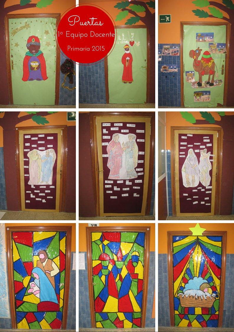 Escolapios alcal on twitter ya tenemos nuestras puertas - Decoracion de navidad para oficina ...