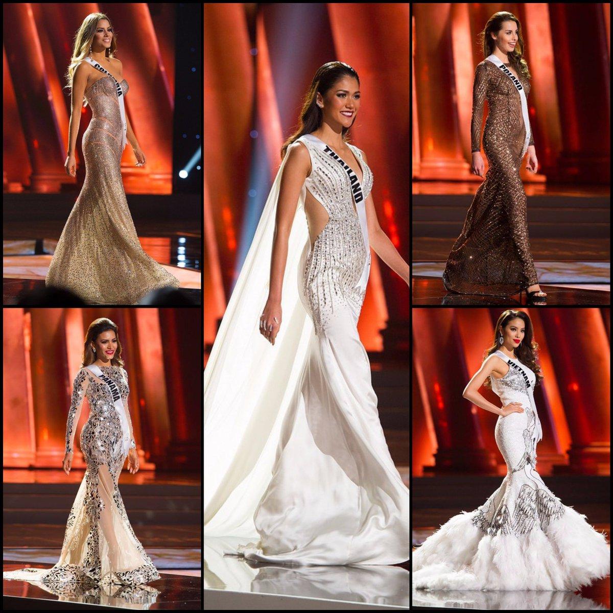 SASHES & TIARAS: My Top 15 BEST GOWNS of #MissUniverse2015 @MissUniverse Preliminaries: https://t.co/D6LhlTZjVY https://t.co/JpI2U7Tc1I