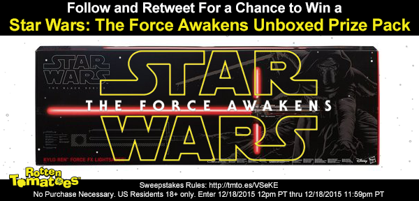 Follow/RT 4 a chance 2 win a #StarWars Prize Pack No Purc Req US18+ #Sweepstakes Rules: https://t.co/H72DxLP3iM https://t.co/fmcFJYvc5C