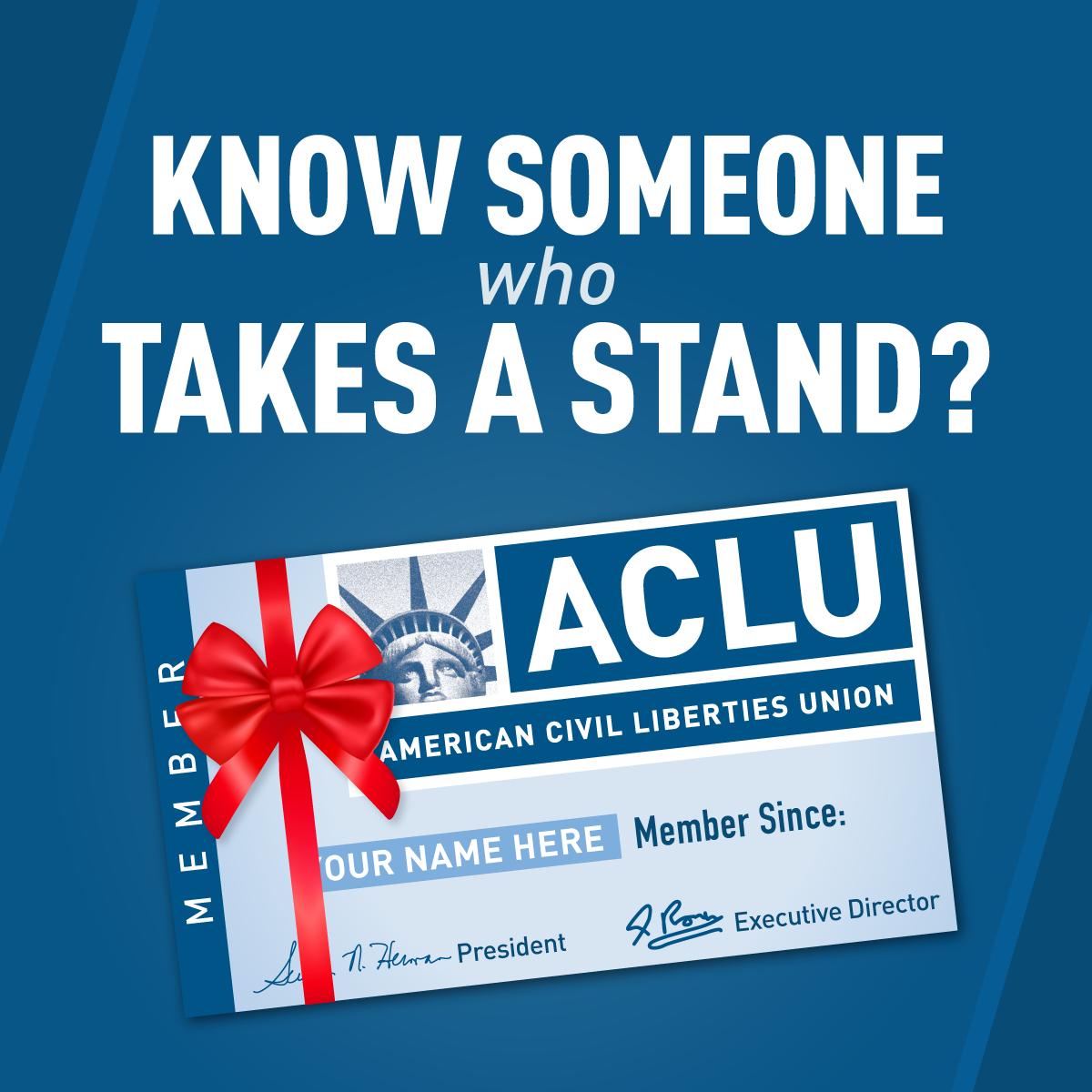 ACLUVerified account