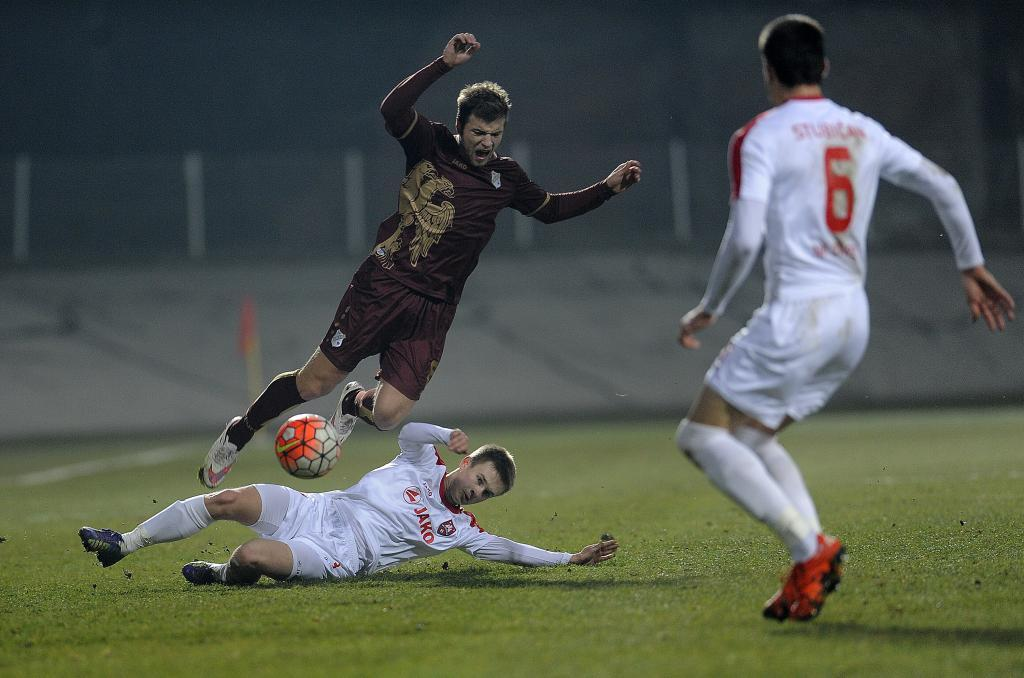 Ristovski is brought down