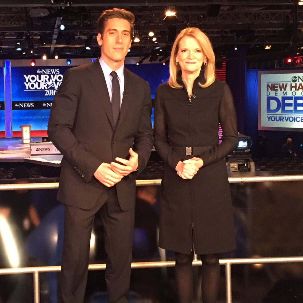 """David Muir on Twitter: """"An honor to join my pal ..."""