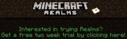free minecraft realms