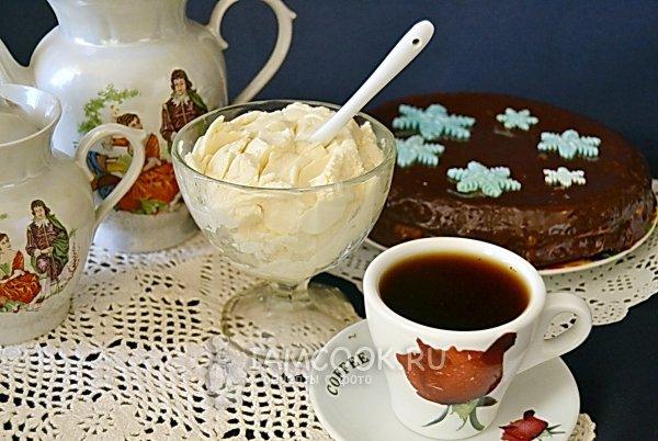 Сливочный крем для бисквитного торта