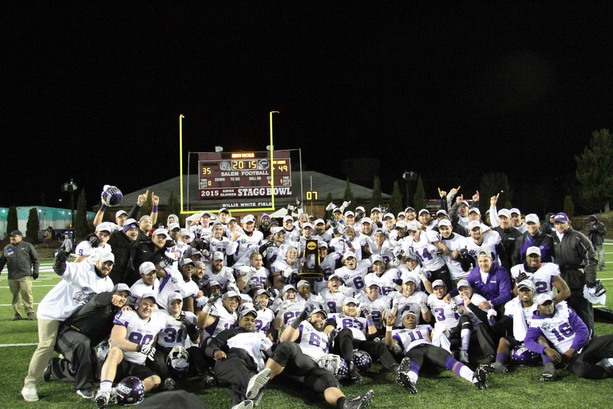 Congratulations to our 12-time National Champion football team! https://t.co/FoQksureM4 @purpleraiders https://t.co/aTlMtpQUNn