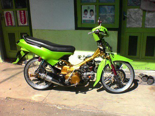 Modifikasi Motor On Twitter Cara Modifikasi Kawasaki Kaze R